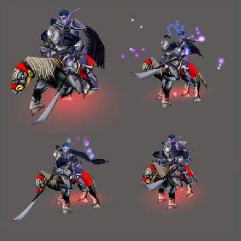 Варкрафт 3 модели ночных эльфов